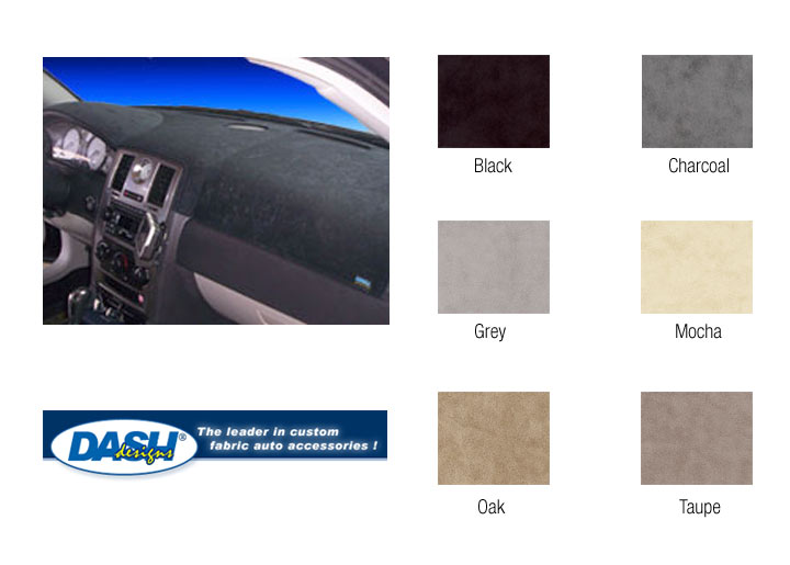 Dash Designs Brushed Suede Dashboard Cover