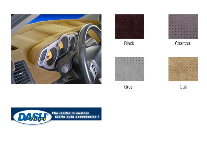 Dash Designs Sedona-suede Dashboard Cover