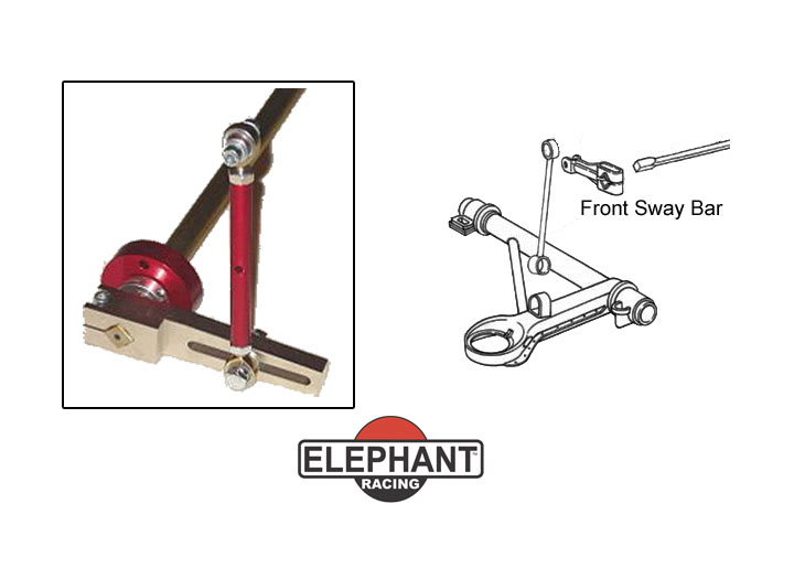 Elephant Racing Performance Hollow Front Sway Bar