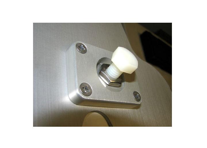 Rennline Floorboard Pedal Throttle Stop, Silver
