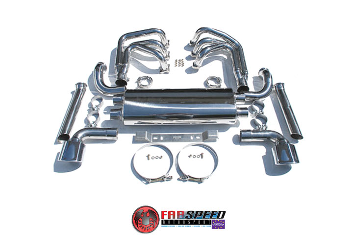 Fabspeed 964 Carrera Rsr Header Muffler Kit  With Out Heat, Wit...