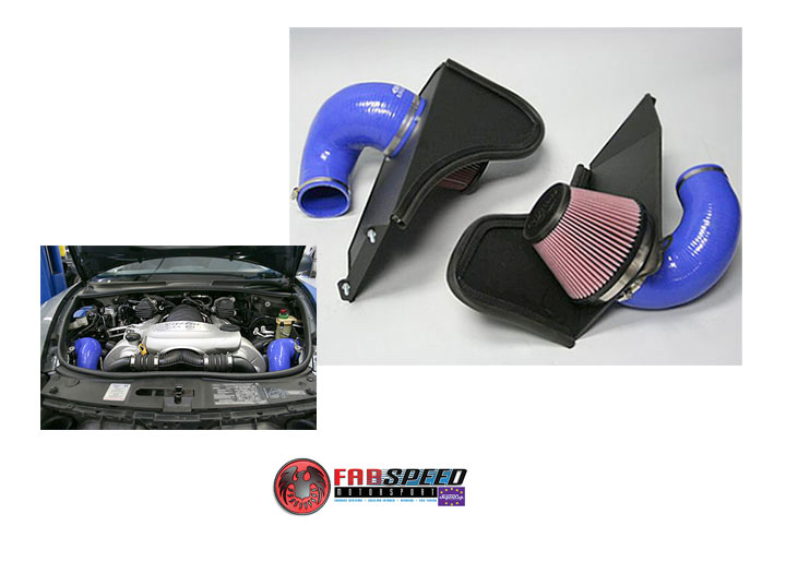 Fabspeed Cayenne S/gts V-flow Air Intake System