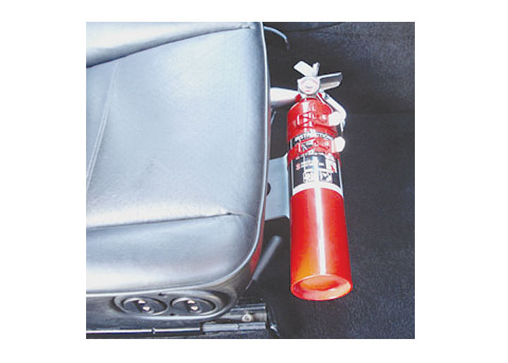 Rennline Fire Extinguisher Mount, With Power Seats