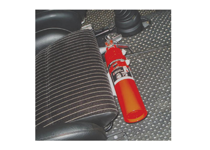 Rennline Fire Extinguisher Mount, With Manual Seats