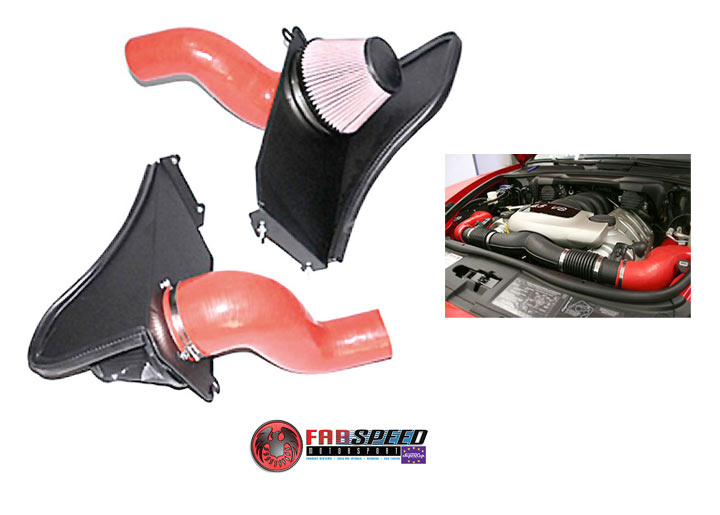 Fabspeed Cayenne S V-flow Air Intake System