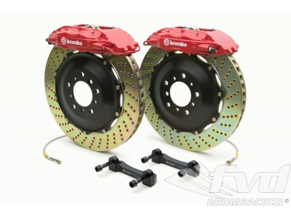 Brembo-sport System Gt Front (4-piston) 380x32mm, Drilled Discs