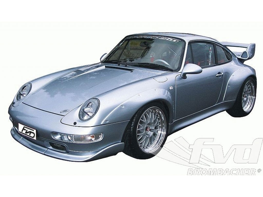 993 Rsr/gt2 3-piece Front Lip Spoiler With Air Ducts ( Incl. Mo...
