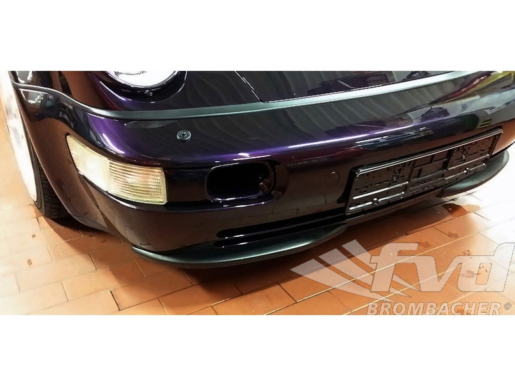 Front Splitter Set, OEM Style 964/965 Rs/rsr Abs-plastic