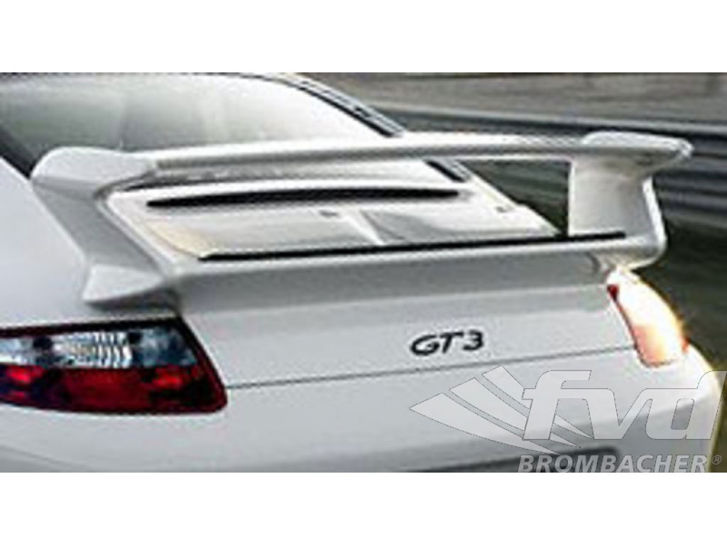 Rearspoiler With Deck Lid 997 Gt3 Look With Carbon Fiber Wing B...