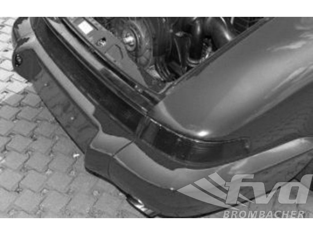 Rear Bumper 964 Rs-look Exhaust Exit Left And Right Gfk