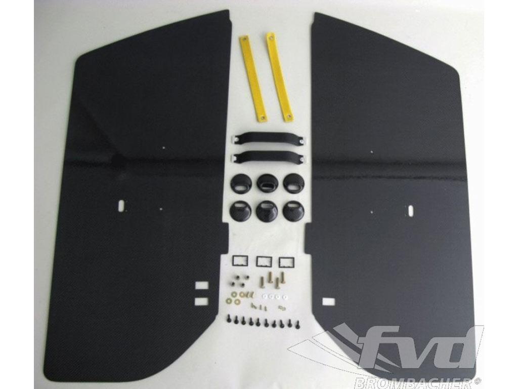 Carbon Door Panel Kit Rs (left And Right) Door Pull Speed Yello...