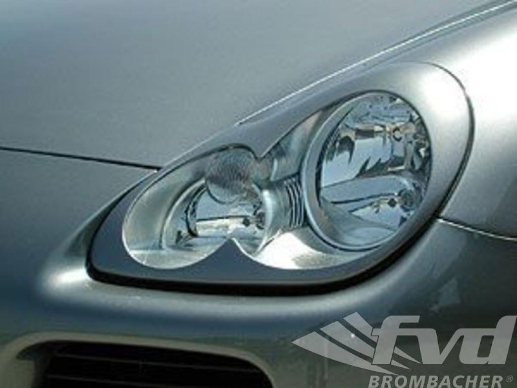 Porsche 996 Headlight Kit Results