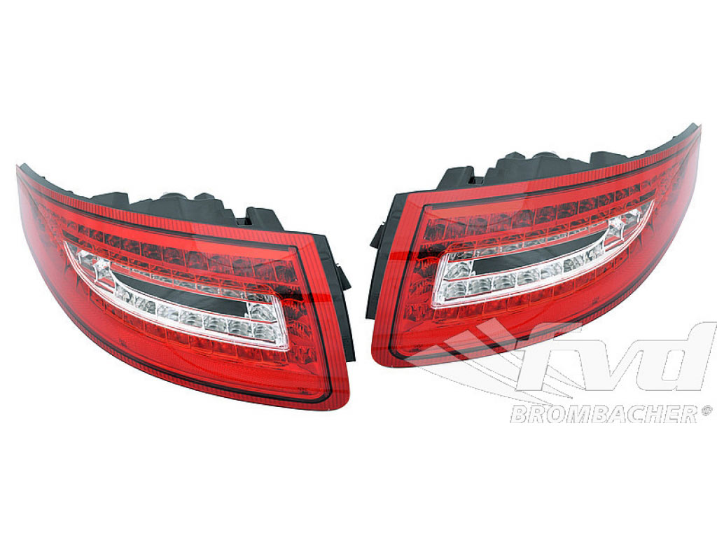 Porsche 911 Fog Light Switch Results Brakes Diagram Led Tail Lights 9971 Turbo Gt3 Set 2pc