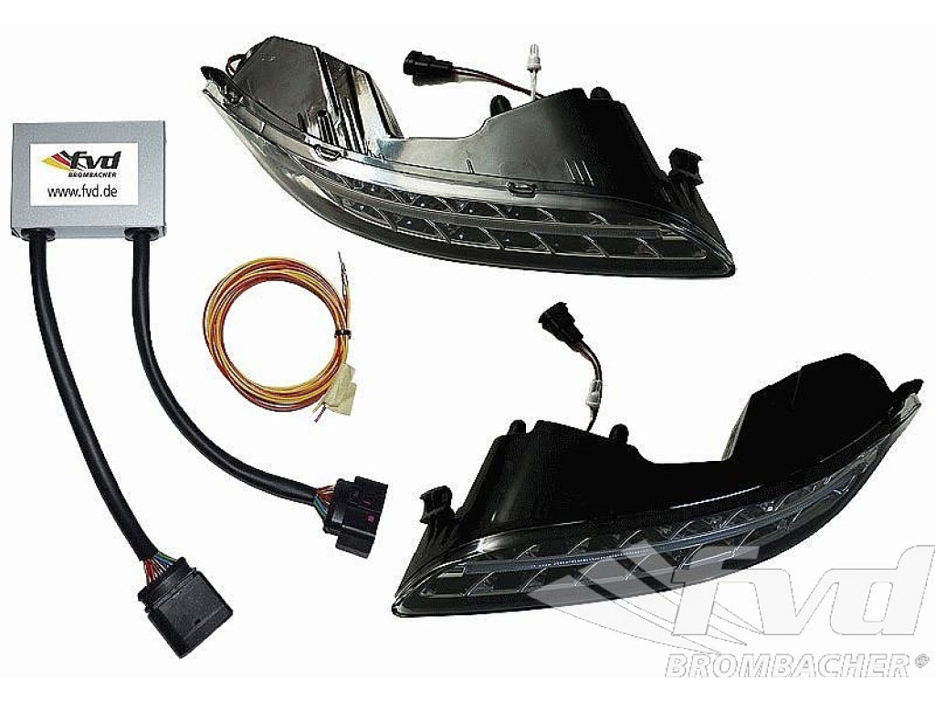 Porsche 993 Ignition Module Results Crane Fireball Xr700 Wiring Diagram Electronic Led Turn Signals Front Set For 9971 With Auto Dim Daytime