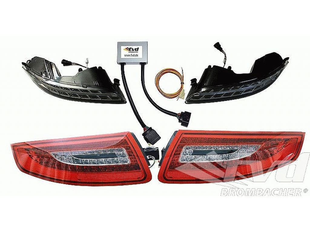 Porsche 993 Ignition Module Results 1987 924s Wiring Diagram Led Light Set Front And Rear For 9971 With Auto Dim Daytim