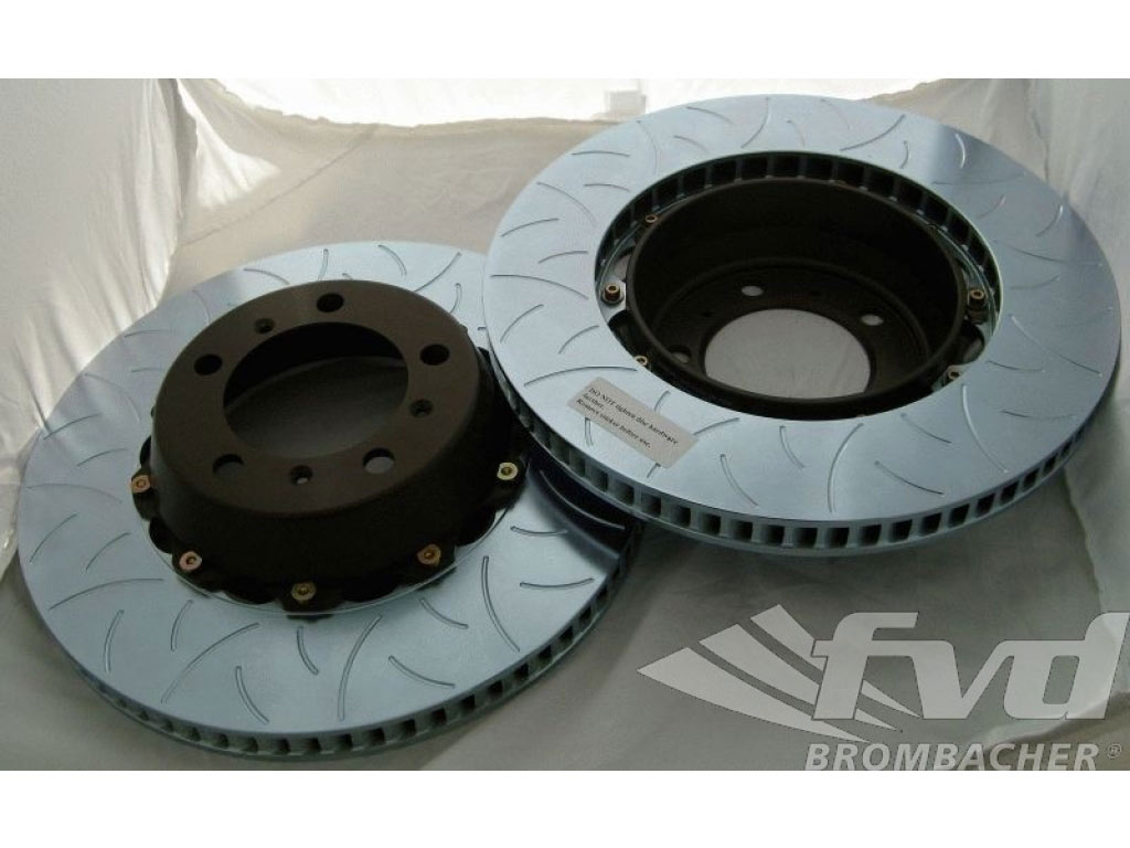 Brembo Type Iii Rotor Set (rear) 350 X 28mm 996 Turbo Excluding...