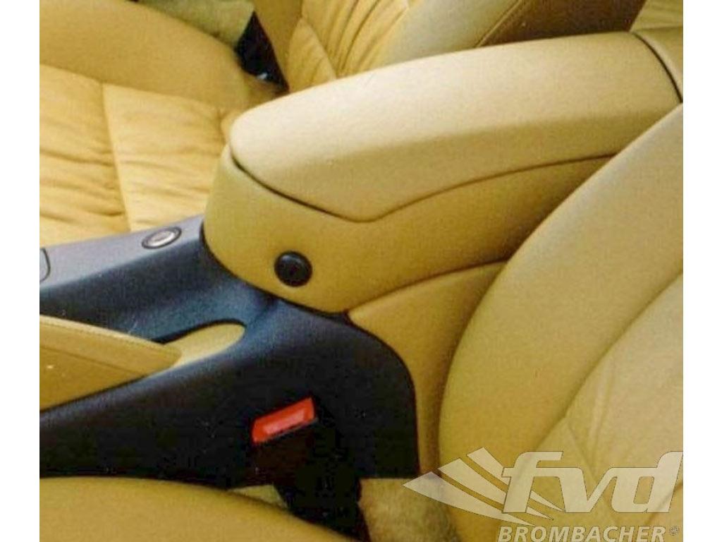 Armrest/storage Leather Black 996 Coupe 97-04