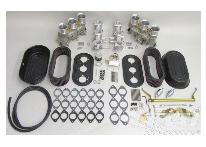 Carburetor Kit Ida 46 With Filter And Installation Kit