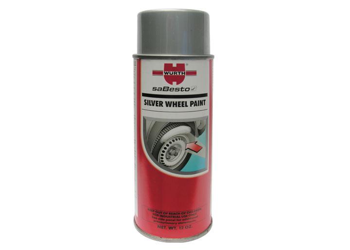 Wurth wheel paint silver 12 oz