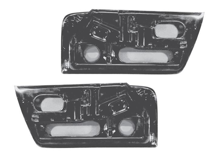 Fiberglass Lightweight Doors, Pair