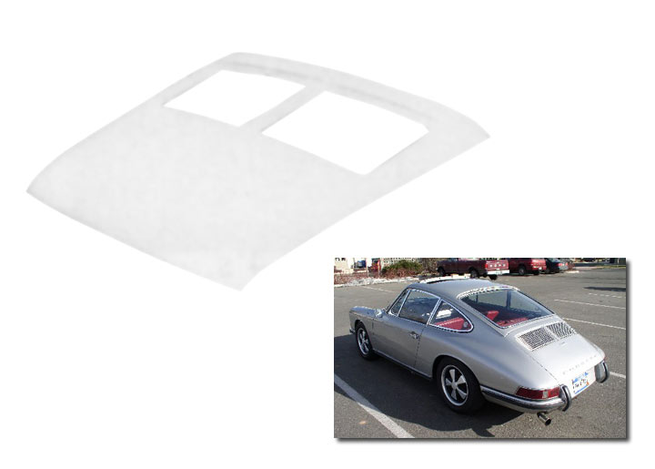 Fiberglass Rear Engine Deck Lid