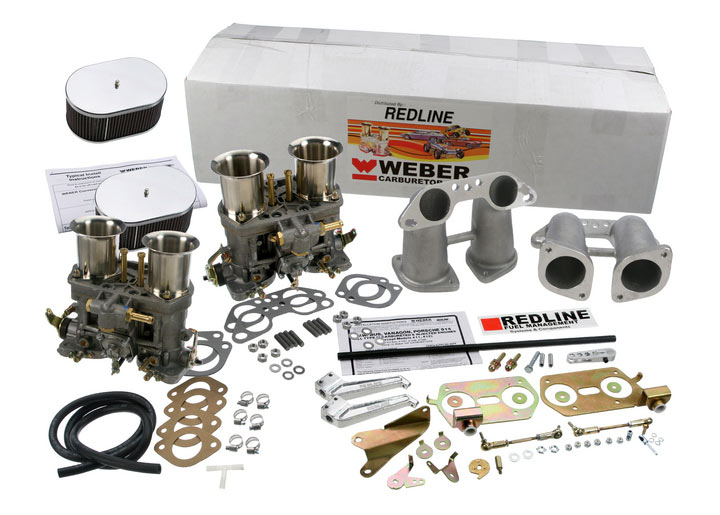 Carburetor Dual 44 Idf Conv. Kit