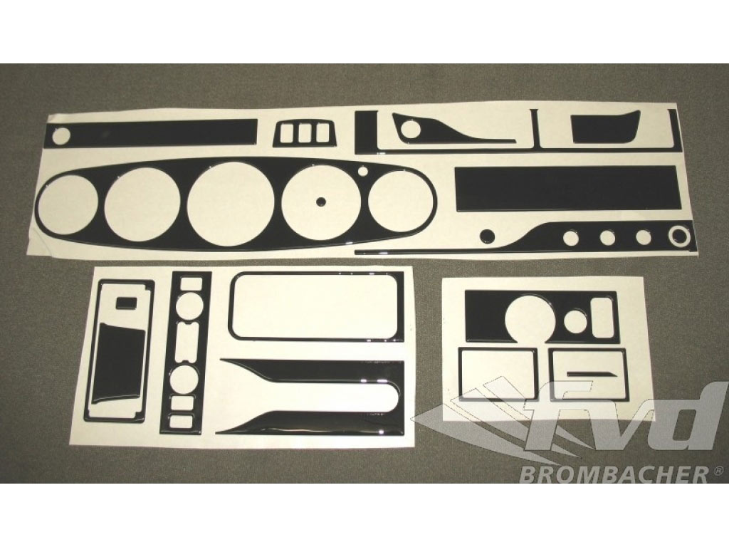 Instrument Cluster Kit, Black 911 -98