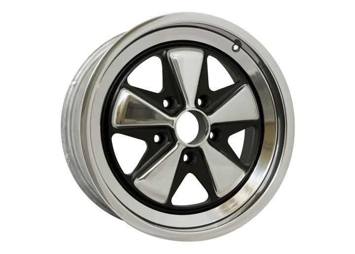 Linea Corse Fox Wheel 17x7.5 Polished Lip And Spokes With Black...