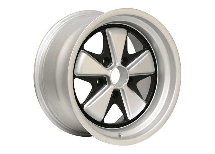 Linea Corse Fox Wheel 17 X 7.5, Satin Silver With Black Accents...