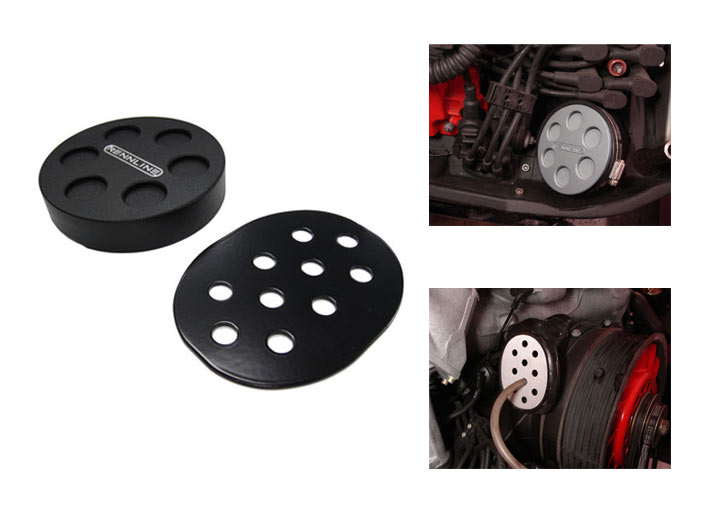 Rennline Rsr/cup Heater Fan Delete Kit, Red