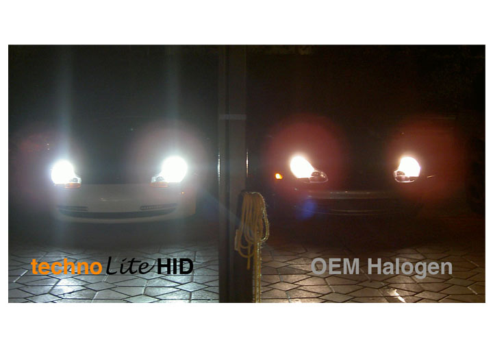Technolite Hid Headlight Conversion Kit For Boxster/cayman