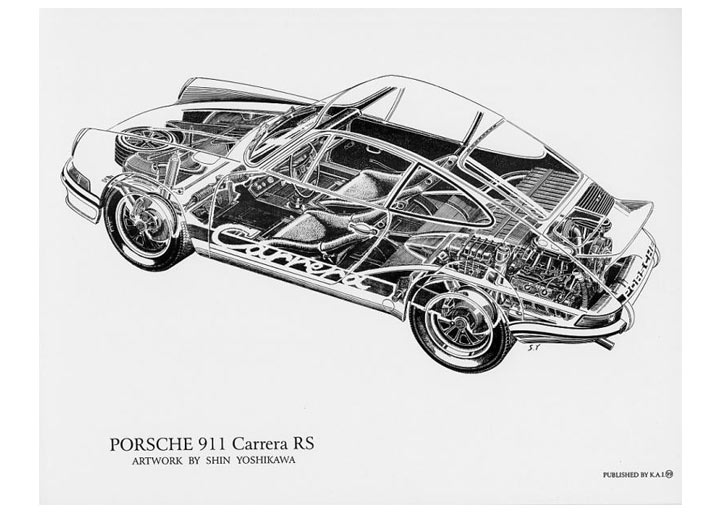 porsche engine cutaway drawings porsche free engine image for user manual