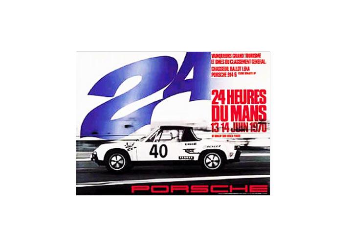24 Hour Lemans 1970 Poster 914