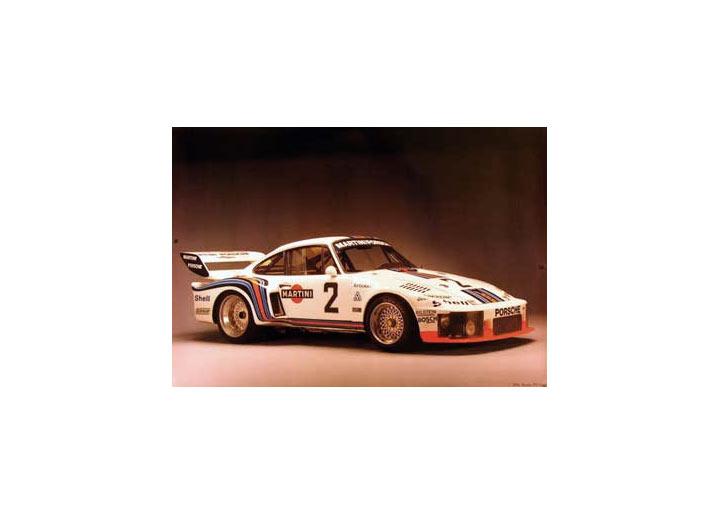 Porsche 1976 935 Coupe Martini Poster