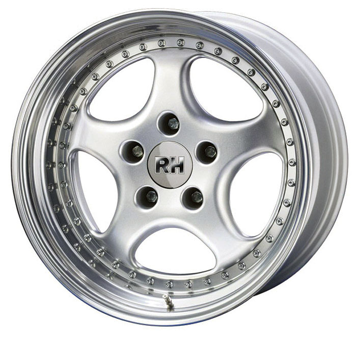 Ag Cup Wheels, 18x10, Rear Silver (27 Offset)