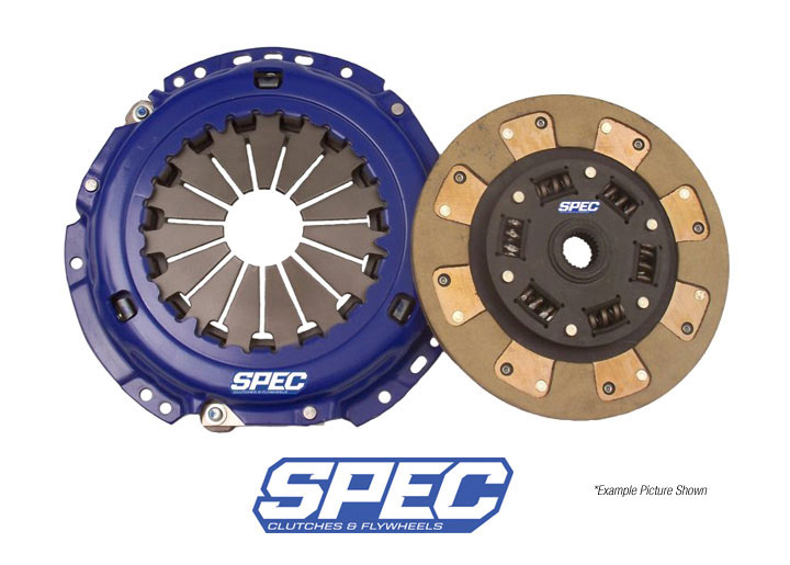Spec Stage 2 Clutch Disc/disk And Pressure Plate Kit; 914 1.7/1...