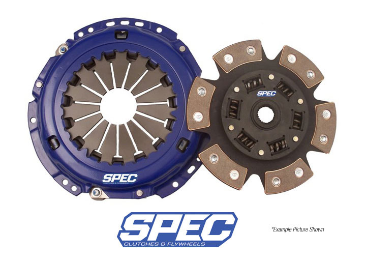 Spec Stage 3 Clutch Disc/disk And Pressure Plate Kit; 914 1.7/1...