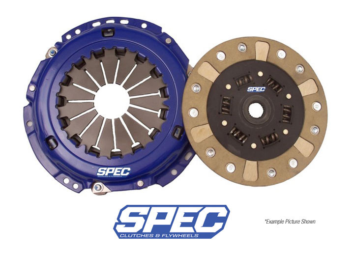 Spec Stage 2+ Clutch Disc/disk And Pressure Plate Kit; 914 1.7/...