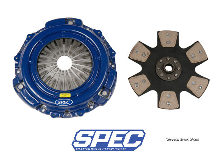 Spec Stage 4 Clutch Disc/disk And Pressure Plate Kit; 914 1.7/1...
