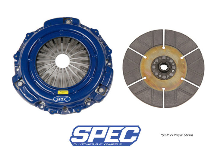 Spec Stage 5 Clutch Disc/disk And Pressure Plate Kit; 914 2.0