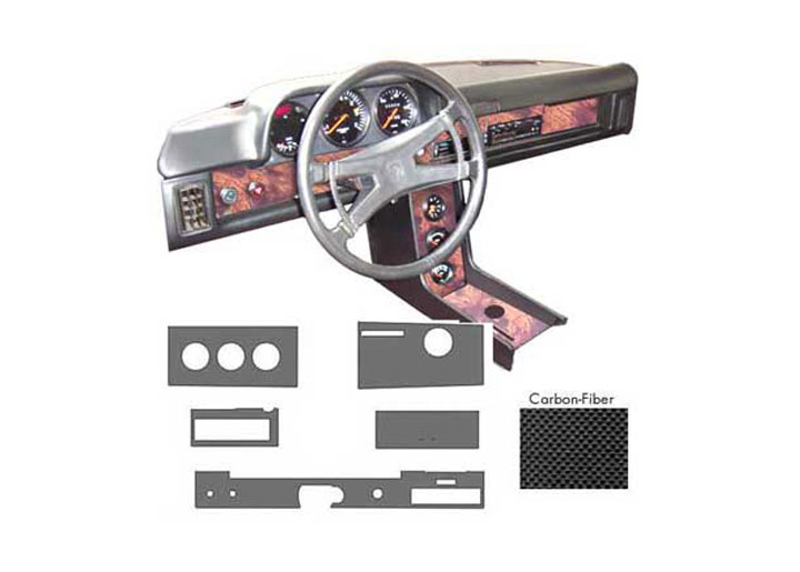 Dash Kit; Carbon Fiber Color; 914