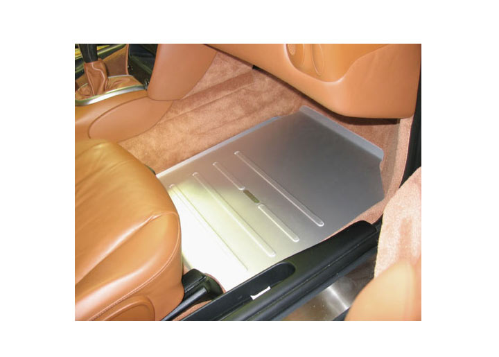 Rennline Passengers Side Track Mat Boxster, 911, Silver