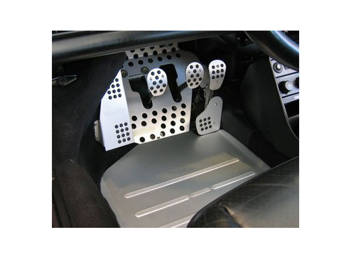 Rennline Drivers Side Track Mat  Boxster/cayman, 997, Silver