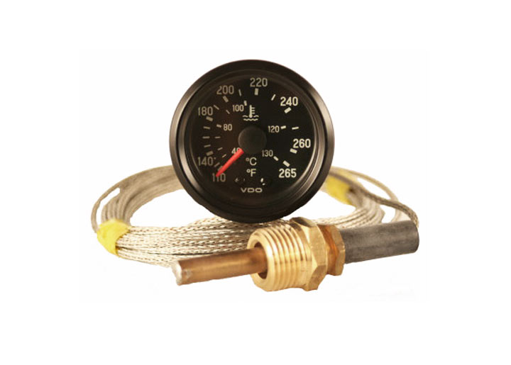 Vdo Cockpit Series Mechanical Water Temperature Gauge Kit