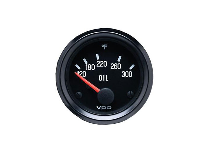 Vdo Cockpit Series Oil Temperature Gauge, 2 1/16