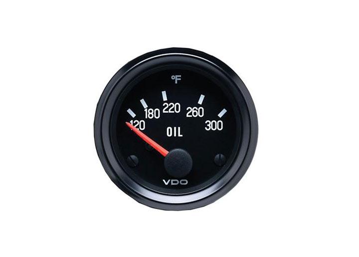 Vdo Cockpit Series Oil Temperature Gauge, 2 1/16\