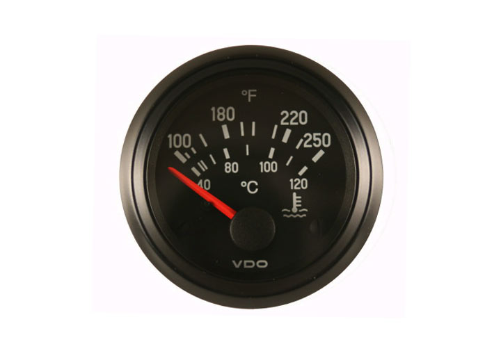 Vdo Cockpit Series Electric Water Temperature Gauge