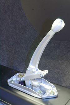 Wevo G50 Shifter Kit, Standard Knob, Silver