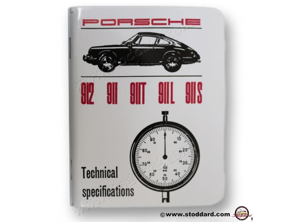 944 Technical Specification Book Workshop Manual Porsche 924S