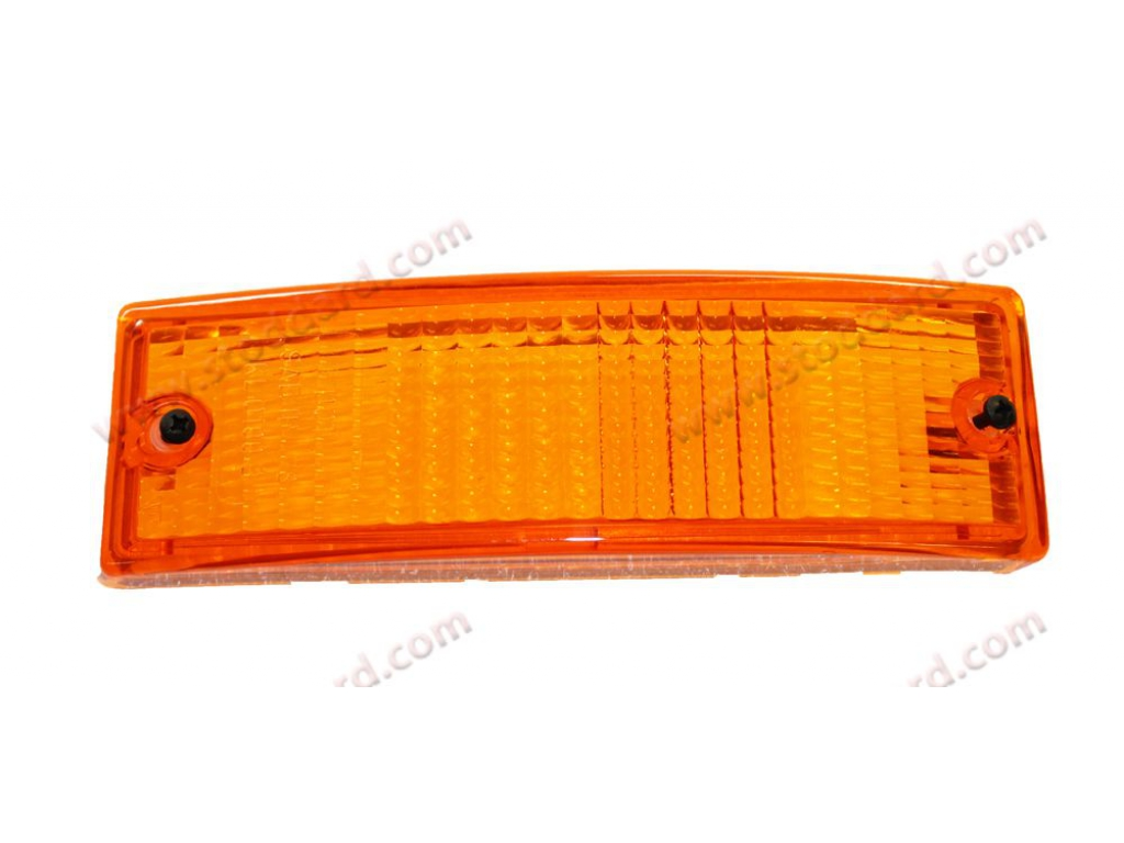 Front white indicator bumper indicator turn signal for Porsche 911 74-89